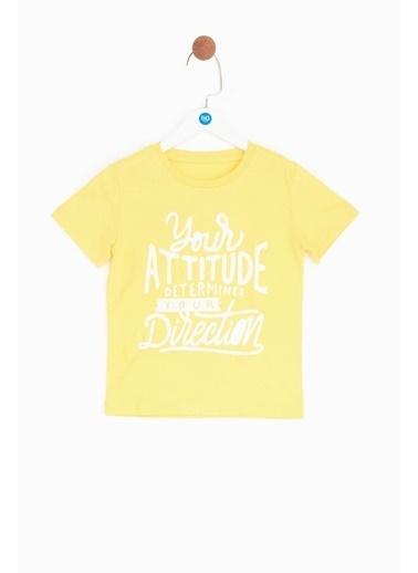Nebbati Tişört Sarı